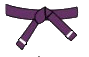 belt-purple-white